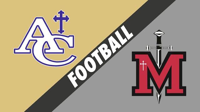 Football: Ascension Catholic vs St. M...