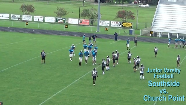 JV Football: Church Point vs Southside