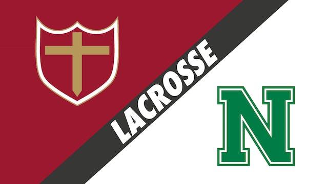 Lacrosse: Brother Martin vs Newman