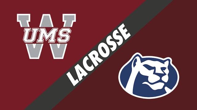 Lacrosse: UMS-Wright (AL) vs St. Thomas More