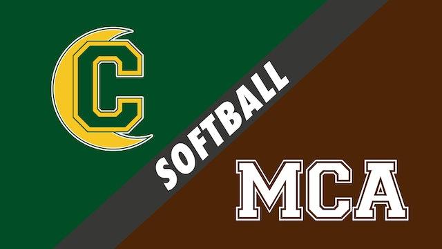 Softball: Cabrini vs Mount Carmel