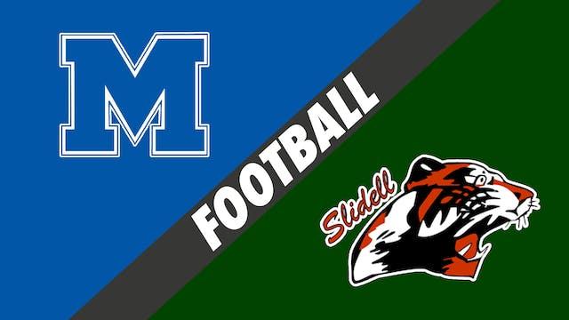 Football: Mandeville vs Slidell