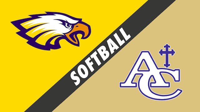 Softball: St. John vs Ascension Catholic