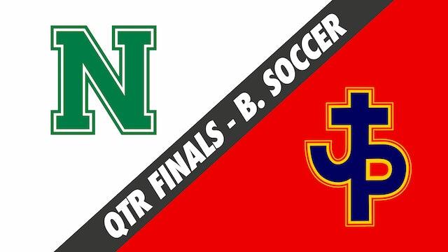 Boys Soccer: Newman vs Pope John Paul