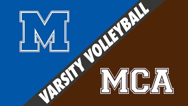 Varsity Volleyball: Mandeville vs Mou...