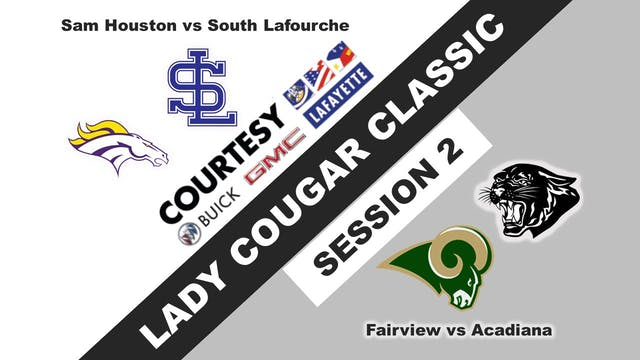 Lady Cougar Classic: Session 2