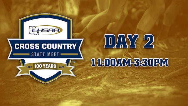 Cross-Country State Meet: Day 2