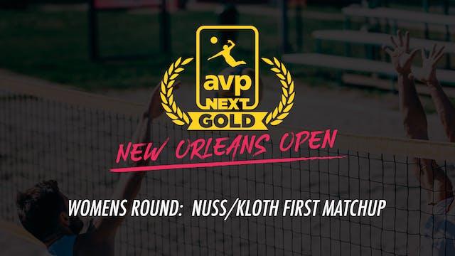 AVPNext Gold Womens Round: Nuss/Kloth...