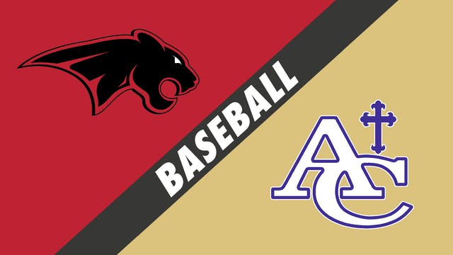 Baseball: Catholic, New Iberia vs Asc...