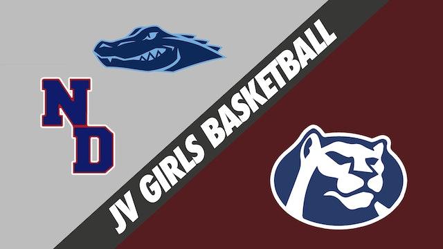 JV Girls Basketball: Ascension Episcopal and Notre Dame vs St. Thomas More