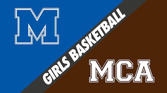 Girls Basketball: Mandeville vs Mount...
