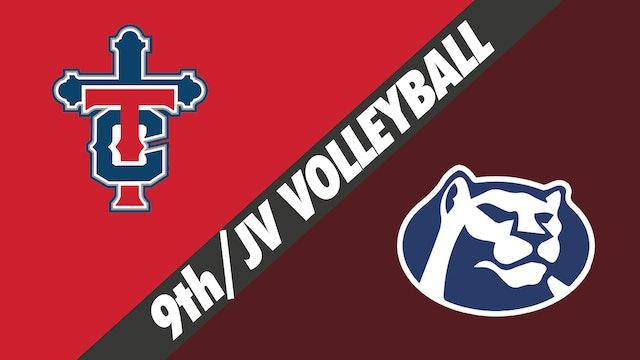 9th Grade/JV Volleyball: Teurlings Catholic vs St. Thomas More