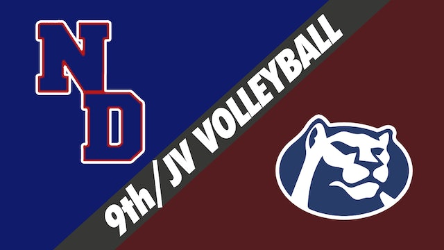 9th Grade/JV Volleyball: Notre Dame vs St. Thomas More - Part 2