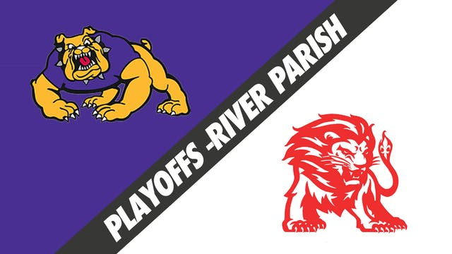 3A 1st Round Playoffs: Lutcher vs Boo...