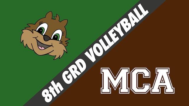 8th Grade Volleyball: Chapelle vs Mount Carmel