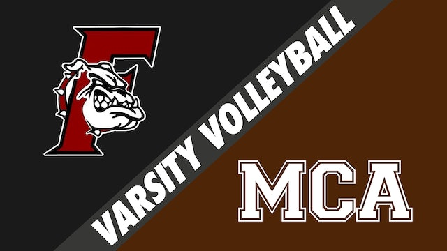 Varsity Volleyball: Fontainebleau vs Mount Carmel