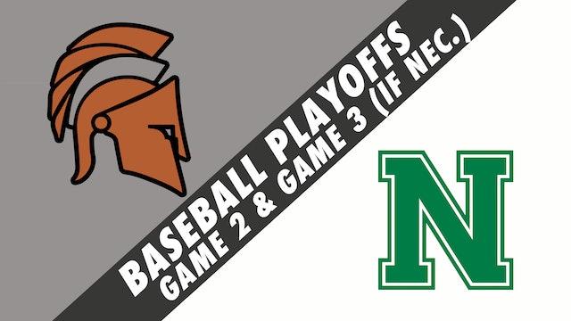 Baseball Playoffs- Game 2: Houma Christian vs Newman