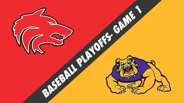 Baseball Playoffs- Game 1: Loranger vs Lutcher