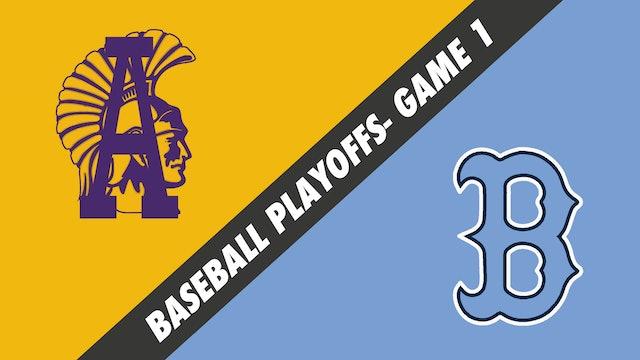 Baseball Playoffs- Game 1: Alexandria vs Barbe