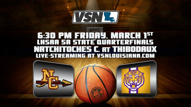 5A State Quarterfinals: Natchitoches ...