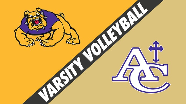 Varsity Volleyball: Lutcher vs Ascension Catholic
