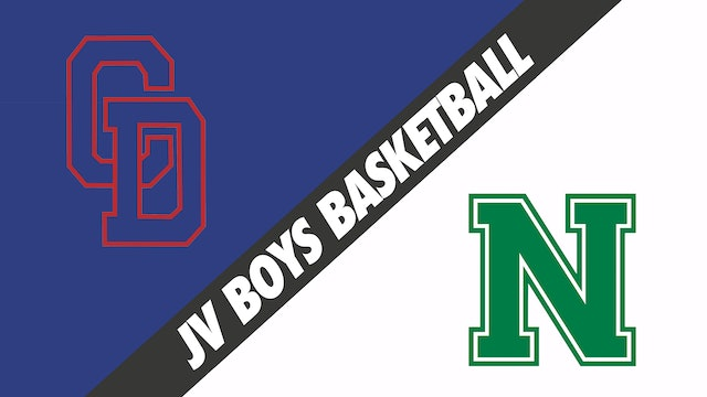 JV Boys Basketball: Country Day vs Newman