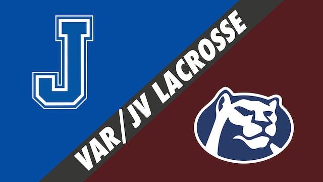 Varsity & JV Lacrosse Doubleheader: J...