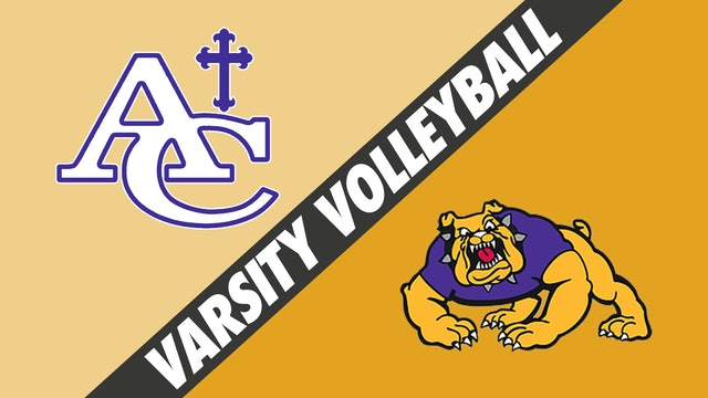 Varsity Volleyball: Ascension Catholic vs Lutcher