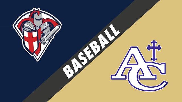 Baseball: Lafayette Christian vs Ascension Catholic
