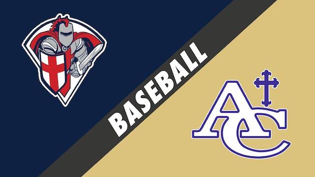 Baseball: Lafayette Christian vs Asce...