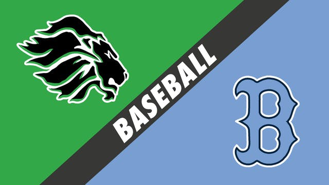 Baseball: Lafayette vs Barbe