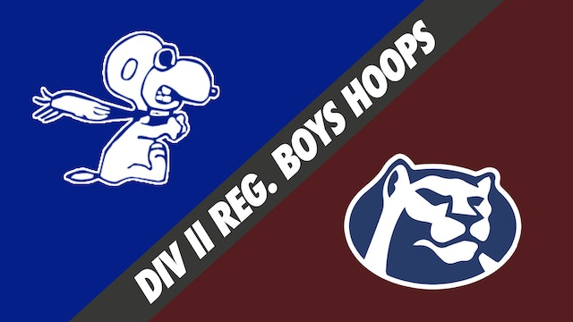 Div II Regionals- Boys Basketball: Loyola Prep vs St. Thomas More
