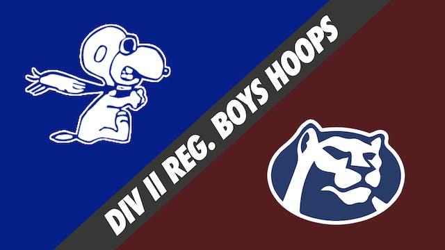 Div II Regionals- Boys Basketball: Lo...