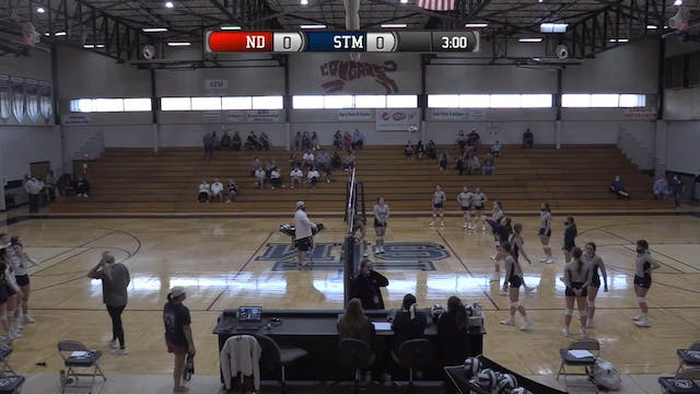 9th Grade/JV Volleyball: Notre Dame v...