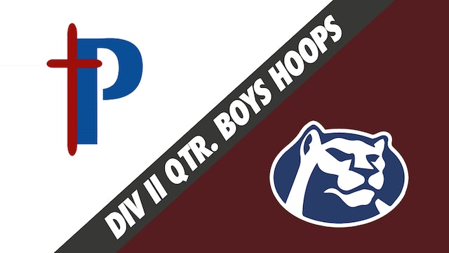 Div II Quarterfinals Boys Basketball: Parkview Baptist vs St. Thomas More
