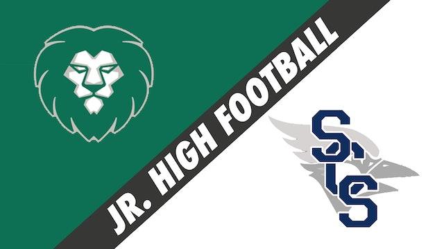 Jr. High Football: Sts. Leo-Seton vs St. Cecilia