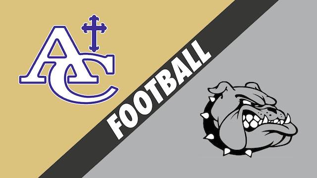 Football: Ascension Catholic vs White Castle