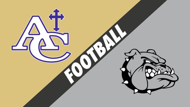 Football: Ascension Catholic vs White...