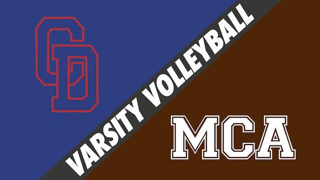 Varsity Volleyball: Country Day vs Mount Carmel