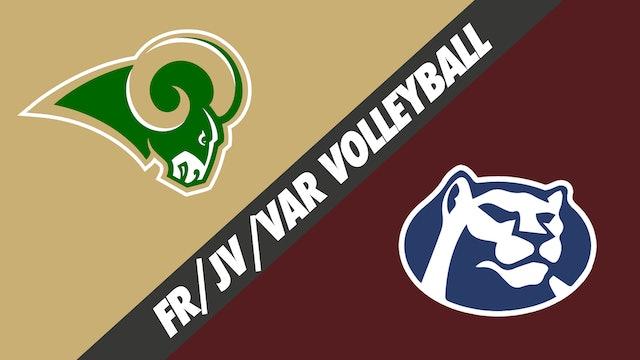 Freshman,JV, & Varsity Volleyball: Acadiana vs St. Thomas More