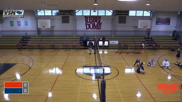 Varsity Volleyball: Assumption vs Teurlings Catholic - Part 1