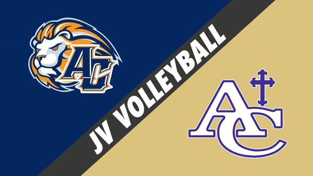 JV Volleyball: Ascension Christian vs...