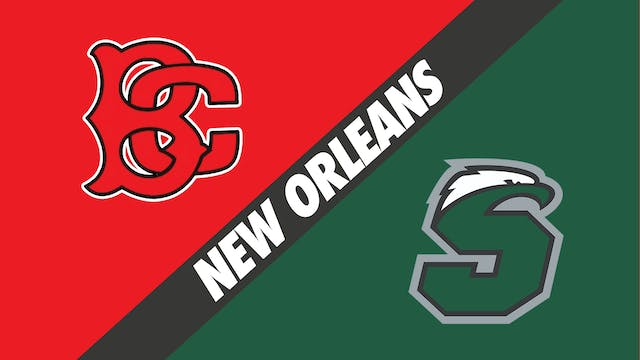 Belle Chasse vs Shaw