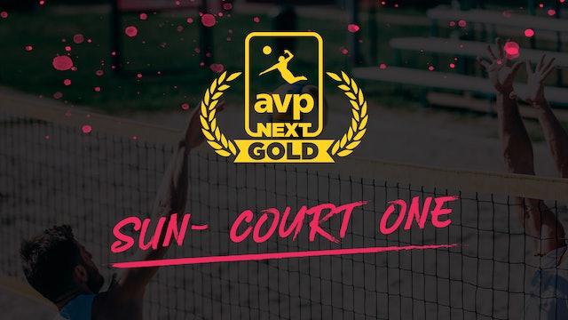 AVPNext Gold Tournament: Court One- Sunday