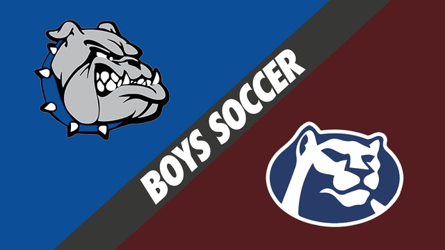 Boys Soccer: Dave Thibodeaux vs St. Thomas More
