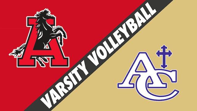 Varsity Volleyball: Assumption at Asc...
