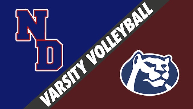 Varsity Volleyball: Notre Dame vs St. Thomas More