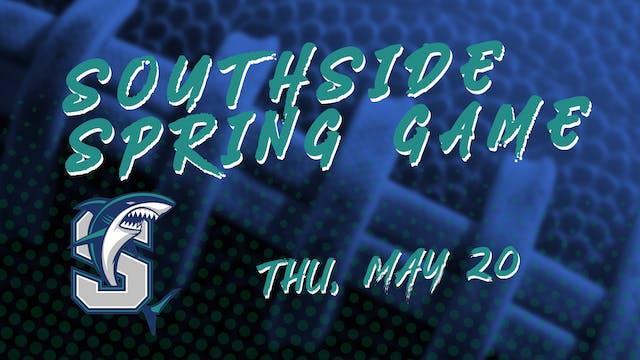 Southside Spring Football Game vs Teu...