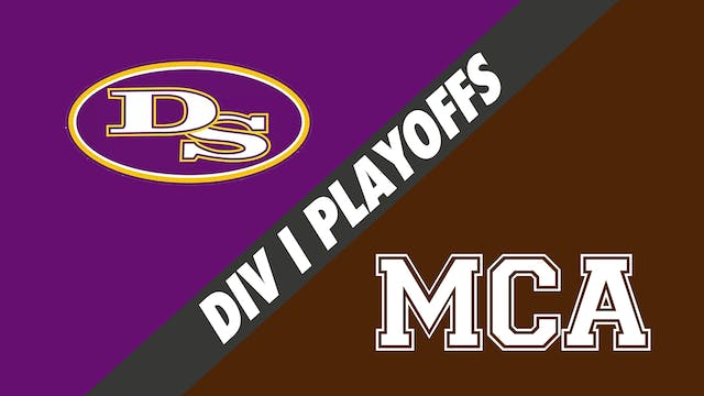 Div I Volleyball Playoffs: Denham Spr...