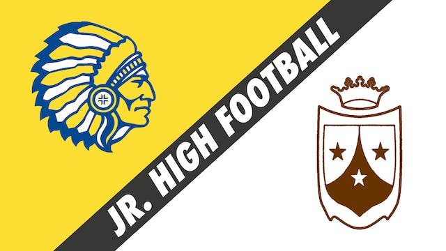 Jr. High Football: Our Lady of Fatima...